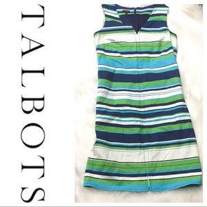 Talbots Shift Dress Women's size 10 - EUC